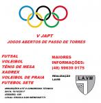 JAPT - JOGOS ABERTOS DE PASSO DE TORRES - V edição