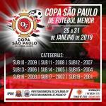 COPA SÃO PAULO DE FUTEBOL MENOR/ Cafelândia/Pirajui-SP -  edição