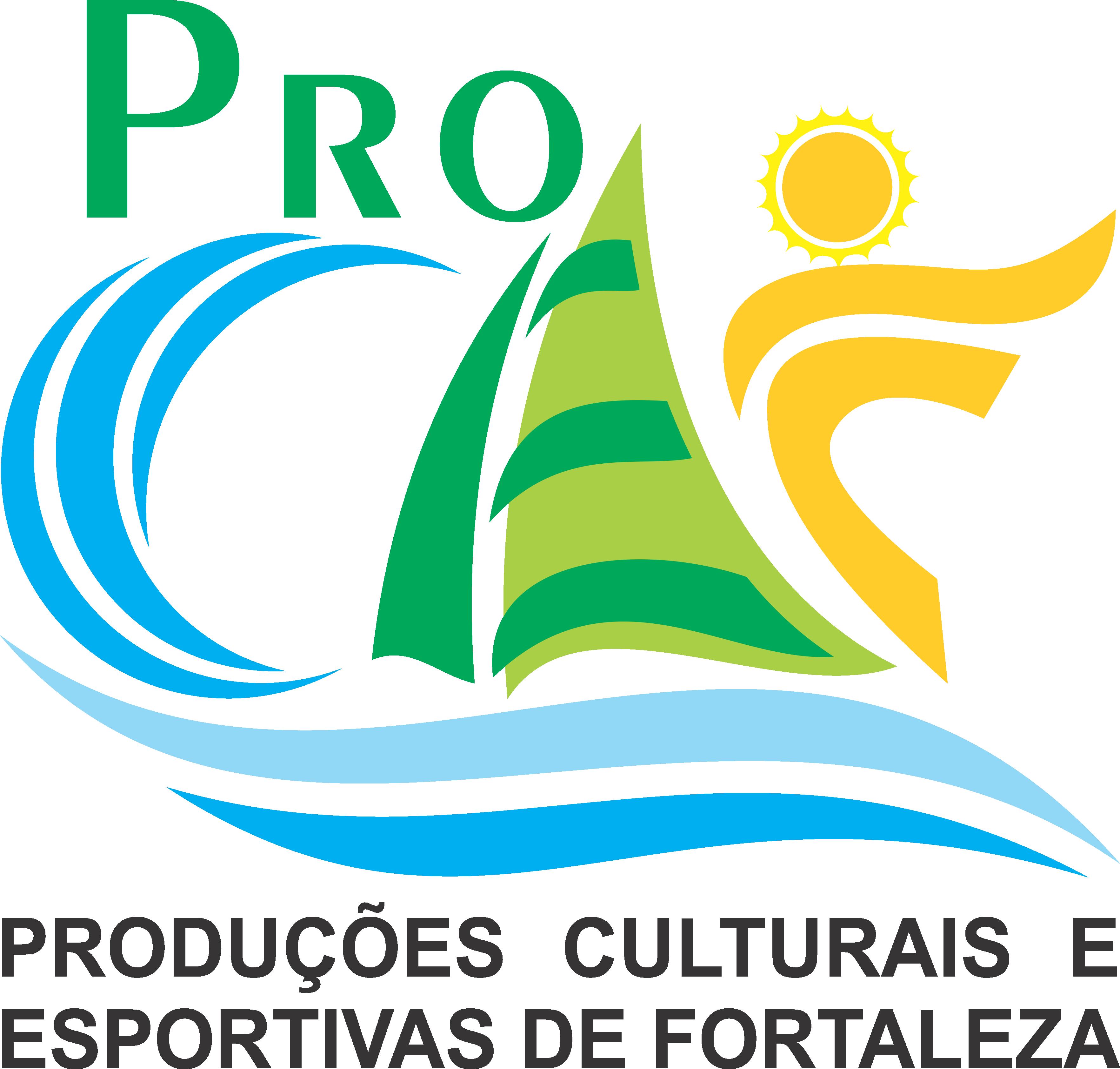 Logomarca PROCEF (Produções Culturais e Esportivas de Fortaleza)