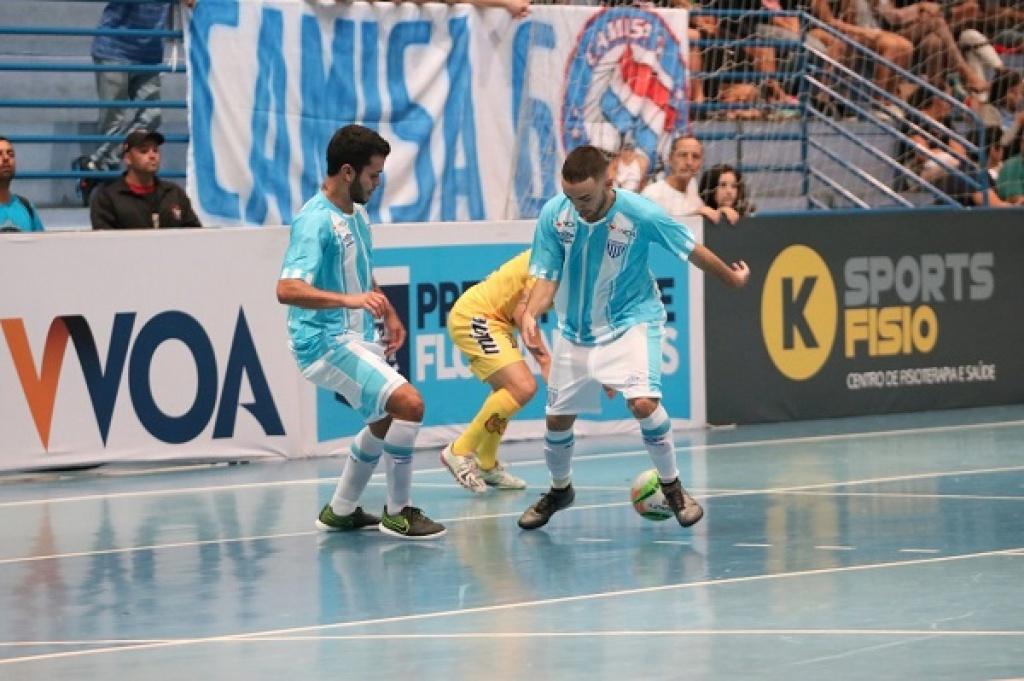 Avaí Floripa Futsal pronto para enfrentar o Blumenau Futsal