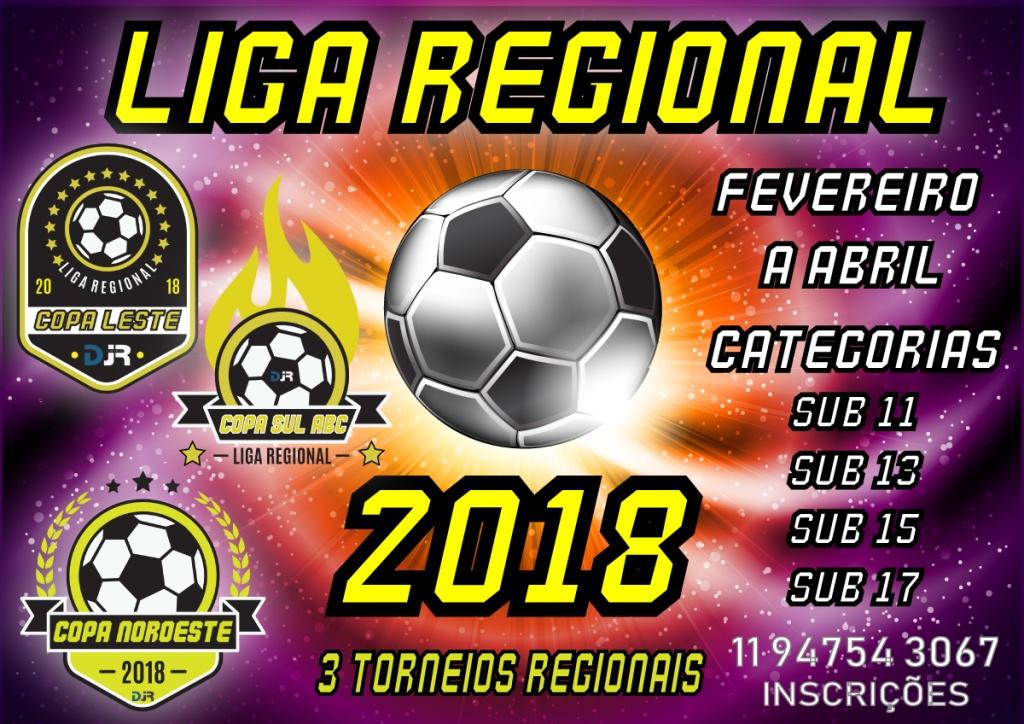 LIGA REGIONAL - Copa Noroeste / Copa Sul ABC / Copa Leste