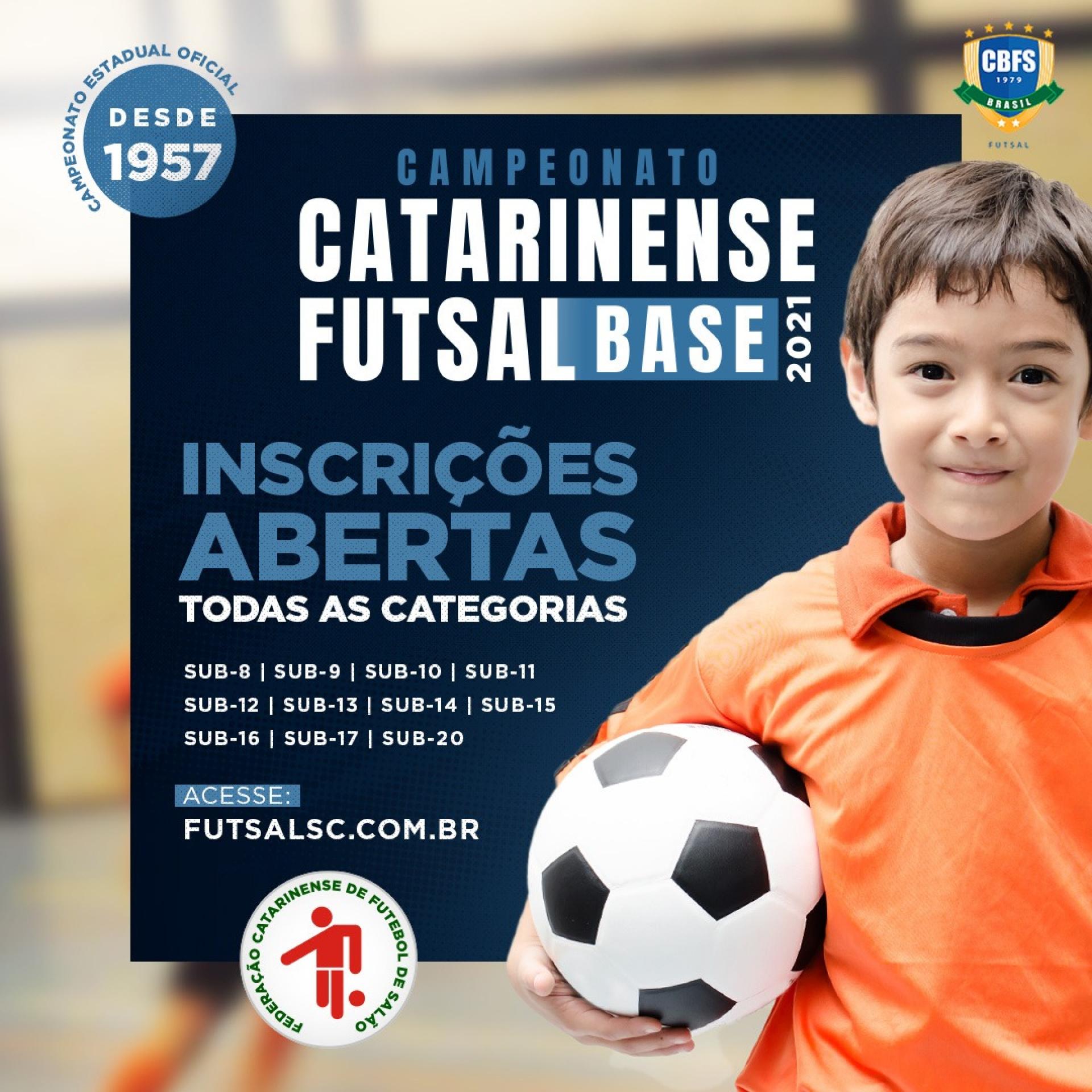 FCFS ABRE INSCRIÇÕES PARA 2021