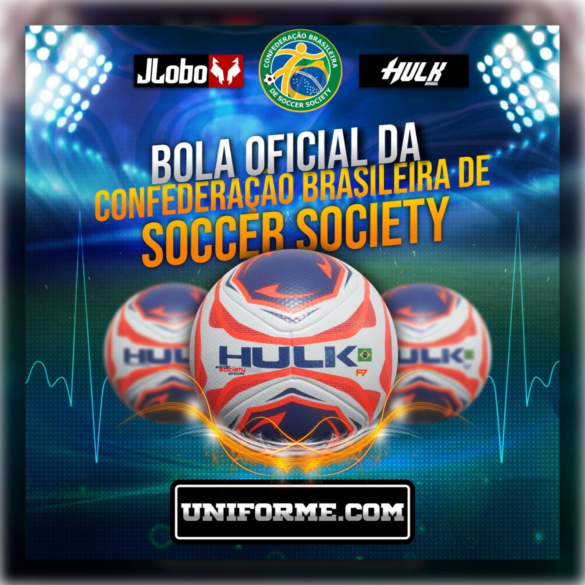HULK a BOLA OFICIAL DA CONFEDERAÇÃO BRASILEIRA DE SOCCER SOCIETY