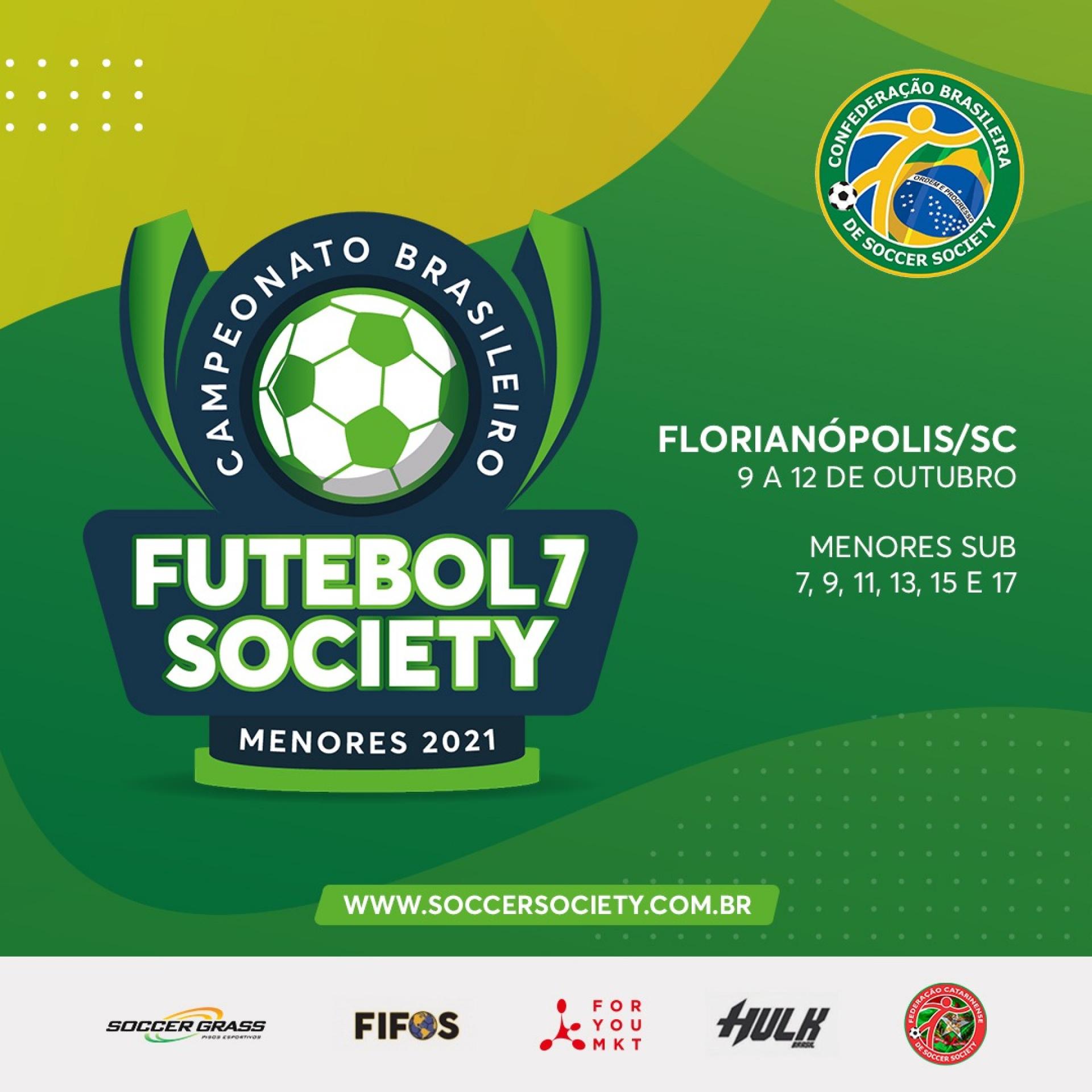Campeonato Brasileiro MENORES 2021
